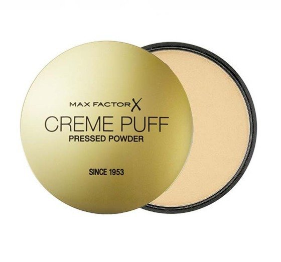 MAX FACTOR CREME PUFF PRESSED POWDER PUDER DO TWARZY PRASOWANY ODCIEŃ 41 MEDIUM BEIGE - Inspiroshop