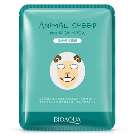 BIOAQUA MASKA ANIMAL SHEEP