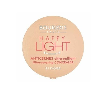 BOURJOIS HAPPY LIGHT COVERING CONCEALER KRYJĄCY KOREKTOR IVORY 21