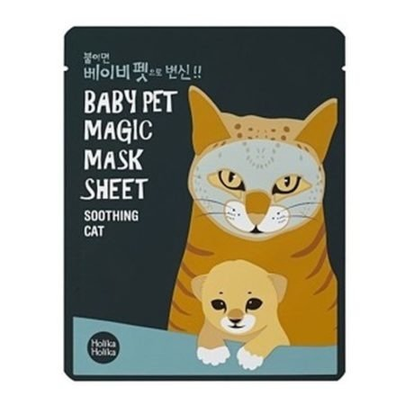 HOLIKA HOLIKA BABY PET MAGIC SHEET CAT MASECZKA DO TWARZY