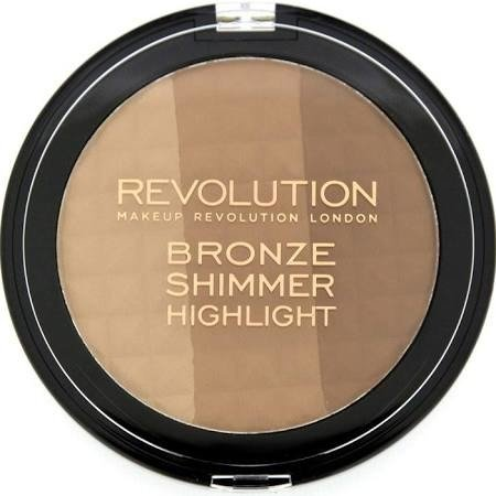 MAKEUP REVOLUTION BRONZE SHIMMER HIGHLIGHT ZESTAW DO KONTUROWANIA