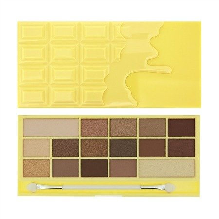 MAKEUP REVOLUTION EYESHADOW PALETTE PALETA 16 CIENI DO POWIEK NAKED CHOCOLATE