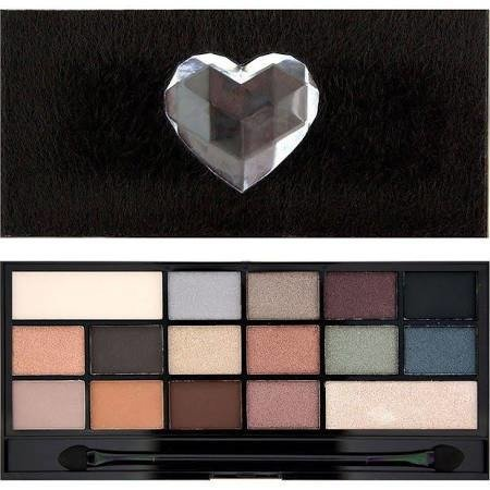 MAKEUP REVOLUTION EYESHADOW PALETTE PALETA 16 CIENI DO POWIEK NAKED UNDERNEATH