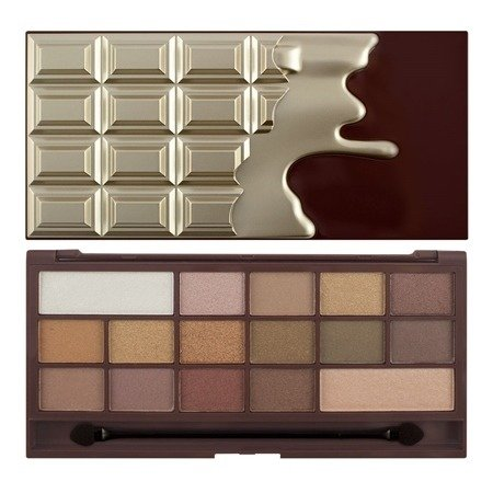 MAKEUP REVOLUTION I LOVE MAKEUP PALETA 16 CIENI DO POWIEK GOLDEN BAR
