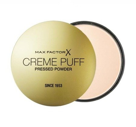 MAX FACTOR CREME PUFF PRESSED POWDER PUDER DO TWARZY PRASOWANY ODCIEŃ 50 NATURAL