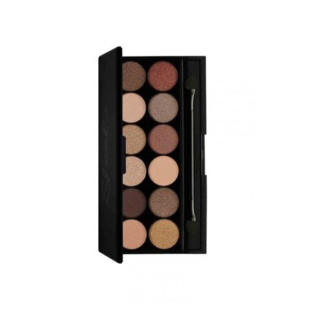 SLEEK MAKEUP i-DIVINE EYESHADOW PALETA 12 CIENI DO POWIEK ALL NIGHT LONG