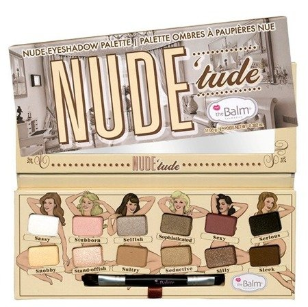 THE BALM NUDE TUDE EYESHADOW PALETA 12 CIENI DO POWIEK