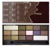 MAKEUP REVOLUTION EYESHADOW PALETTE PALETA 16 CIENI DO POWIEK I HEART CHOCOLATE